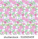 seamless floral pattern for... | Shutterstock .eps vector #510505459