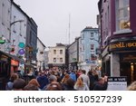 galway  ireland  31 oct 2016 ... | Shutterstock . vector #510527239