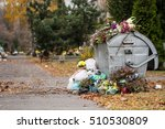 Trash In The Cemetery