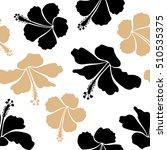 seamless tropical flower ... | Shutterstock .eps vector #510535375
