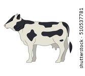 beet livestock animal design | Shutterstock .eps vector #510537781