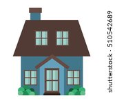 home building icon | Shutterstock .eps vector #510542689