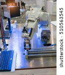robotic machine vision system  | Shutterstock . vector #510563545