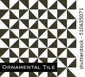 ornamental victorian mosaic... | Shutterstock .eps vector #510635071