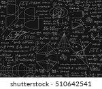 mathematical vector seamless... | Shutterstock .eps vector #510642541
