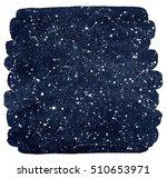 cosmic background. dark blue... | Shutterstock . vector #510653971