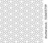 islamic geometric art  abstract ... | Shutterstock .eps vector #510655759