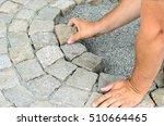 Construction Worker Installing...