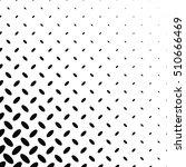 black and white diagonal... | Shutterstock .eps vector #510666469