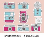 colorful vector illustration of ... | Shutterstock .eps vector #510669601