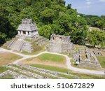 scenic view of mayan ruins in... | Shutterstock . vector #510672829
