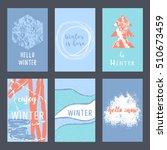 set of creative universal...   Shutterstock .eps vector #510673459