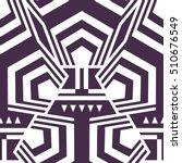 abstract seamless modern art... | Shutterstock .eps vector #510676549