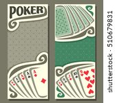 vector logo of holdem poker ... | Shutterstock .eps vector #510679831