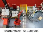 robotic arm at production line... | Shutterstock . vector #510681901