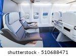 empty comfortable business... | Shutterstock . vector #510688471