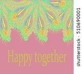 abstract zentangle inspired art ...   Shutterstock . vector #510690001