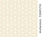 seamless ethnic pattern with... | Shutterstock .eps vector #510691741