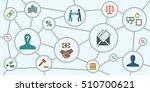 vector illustration of... | Shutterstock .eps vector #510700621