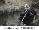 masked assassin | Shutterstock . vector #510704377