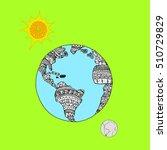 planet.   Shutterstock .eps vector #510729829