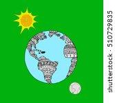 planet.   Shutterstock .eps vector #510729835