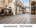 Mamilla Road Street Near Jaffa...