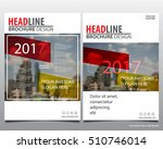 red and yellow economy... | Shutterstock .eps vector #510746014