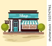 building a store or market.... | Shutterstock .eps vector #510747961