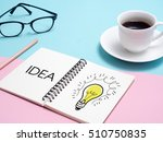business  education  idea ... | Shutterstock . vector #510750835