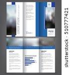 vector tri fold brochure... | Shutterstock .eps vector #510777421