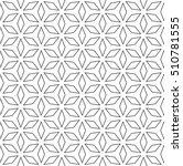 raster monochrome seamless... | Shutterstock . vector #510781555