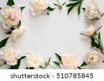 wedding invitation or bridal... | Shutterstock . vector #510785845