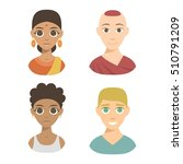 group people nationality race... | Shutterstock .eps vector #510791209