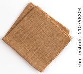 burlap hessian sacking isolated ... | Shutterstock . vector #510798304