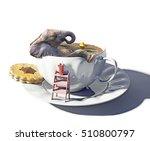 The Cup Of Tea As The Bathtub...