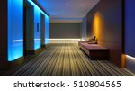 indoor hotel lobby with the... | Shutterstock . vector #510804565
