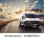 transport truck. 3d rendering | Shutterstock . vector #510805351