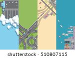 vector illustration. port ... | Shutterstock .eps vector #510807115
