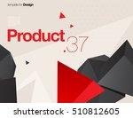 vector layout design template... | Shutterstock .eps vector #510812605