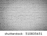 white brick wall background | Shutterstock . vector #510835651
