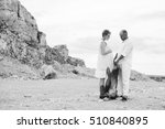 pregnant woman and man photo... | Shutterstock . vector #510840895