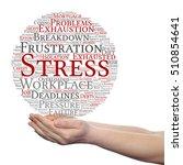 concept conceptual mental... | Shutterstock . vector #510854641