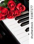piano key close up shot   Shutterstock . vector #51087277