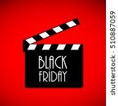 black friday advertising banner ...   Shutterstock . vector #510887059