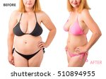 woman in bikini posing before... | Shutterstock . vector #510894955