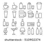 modern line style icons set ... | Shutterstock .eps vector #510902374