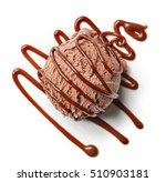 Chocolate Ice Cream Ball And...