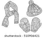 vector illustration warm... | Shutterstock .eps vector #510906421
