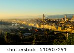 florence panoramic sunset | Shutterstock . vector #510907291
